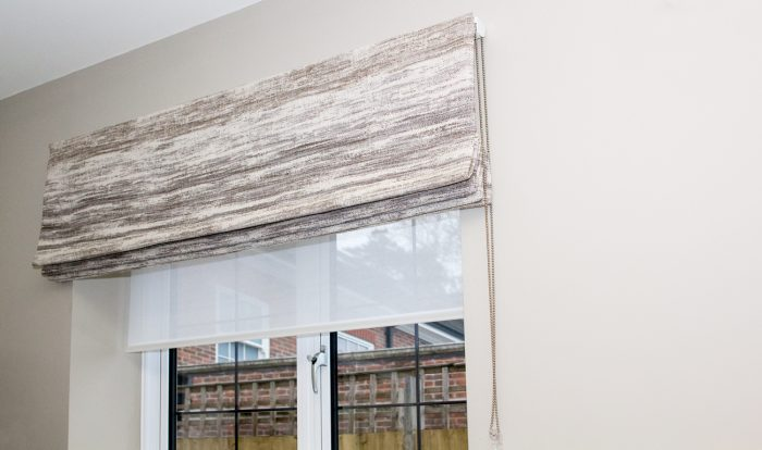 Roman Blinds fitting and installation in Surrey, London