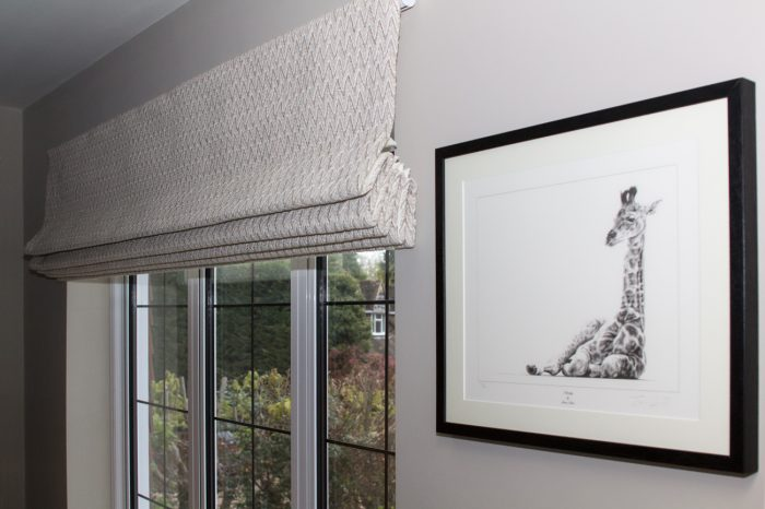 Roman Blinds Installation in Surrey, London