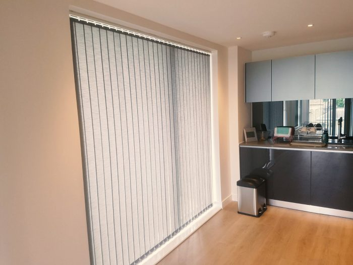 Installation of Vertical Blinds in Brentford