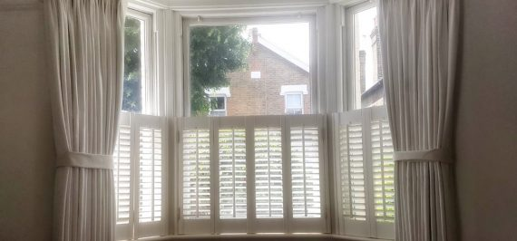 bay window curtains Tolworth