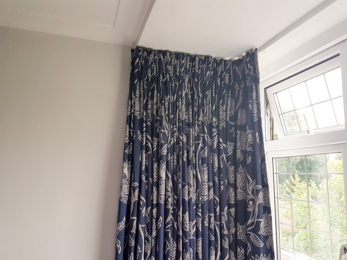 Made to measure curtains and cushions in Surrey