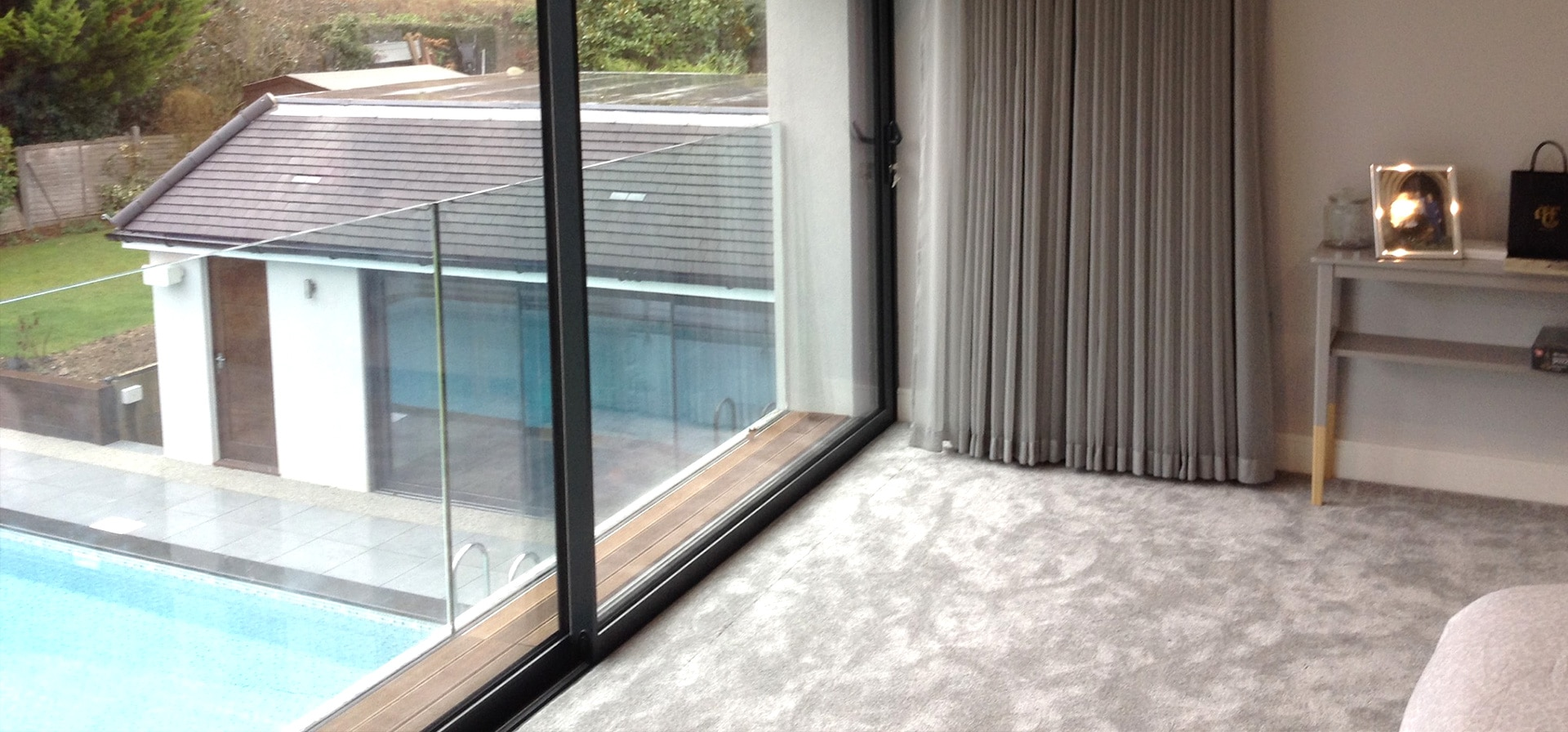 Hinchley Wood Bespoke Pelmet And Dual Curtain Treatment