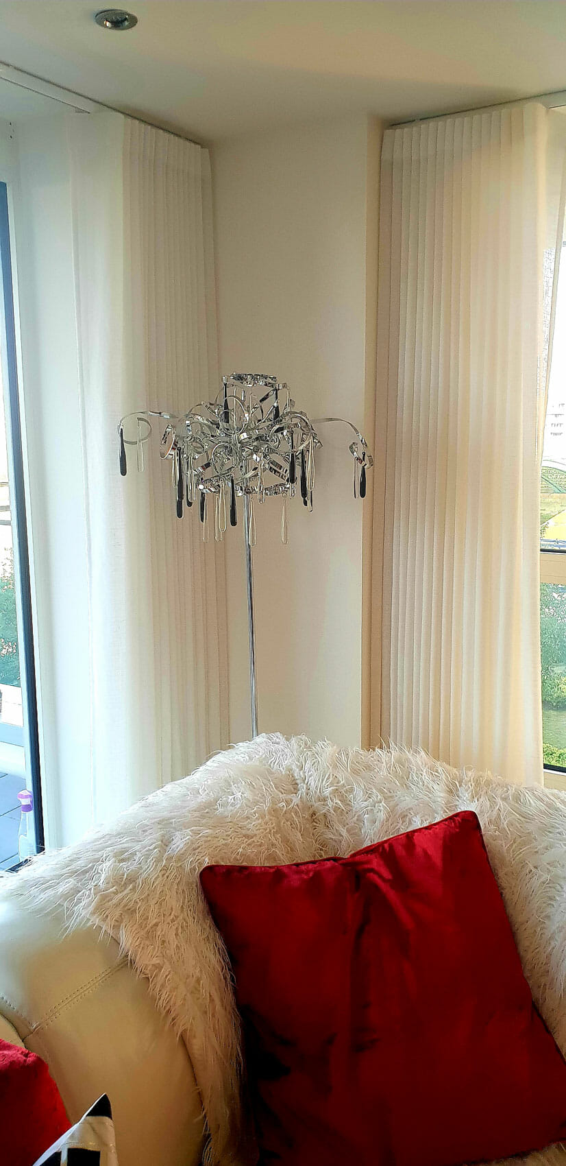 made to measure sheer curtains for the london apartment at. Black Bedroom Furniture Sets. Home Design Ideas