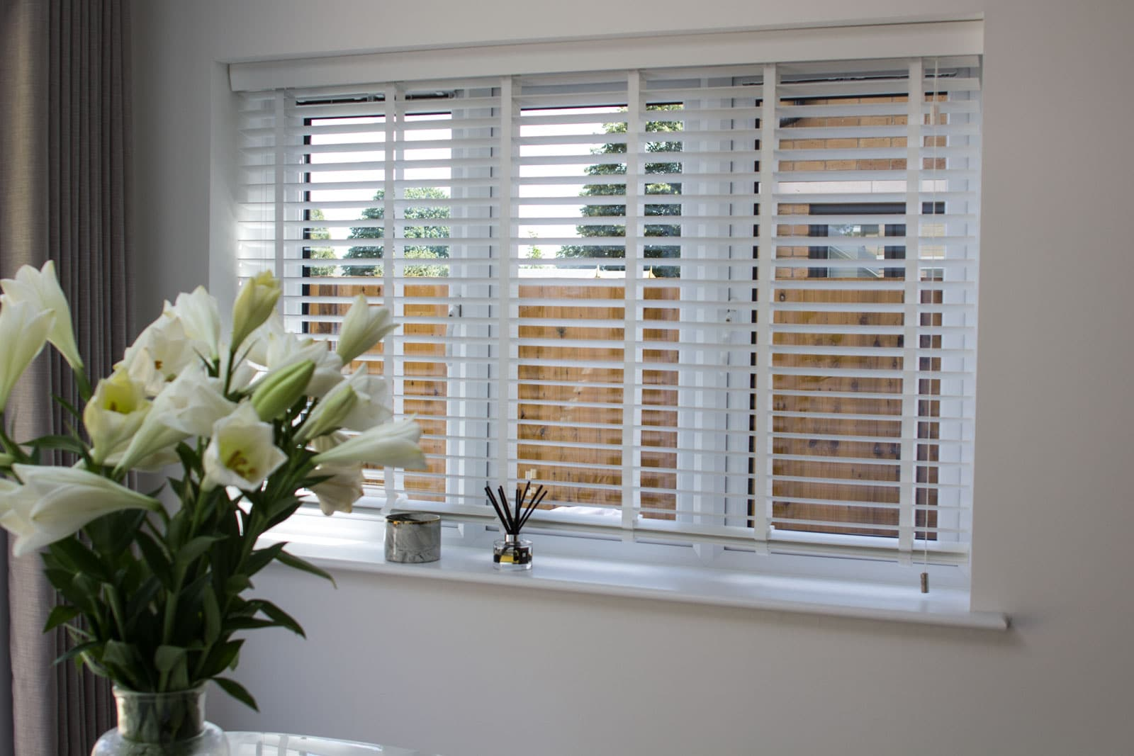 Venetian Blinds at Imber Riverside, London