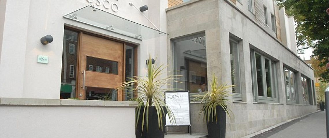 Curtain project Hotel Bosco Surbiton