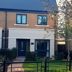 Venetian blinds, curtains and tracks to modern house in East Molesey
