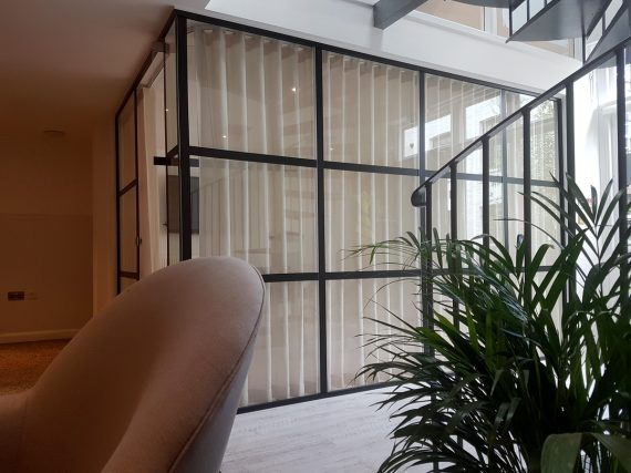 Office dividers, curtains in London